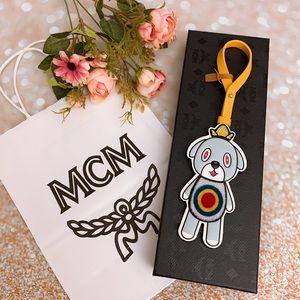 MCM EDDIE KANG limited edition bag charm keychain